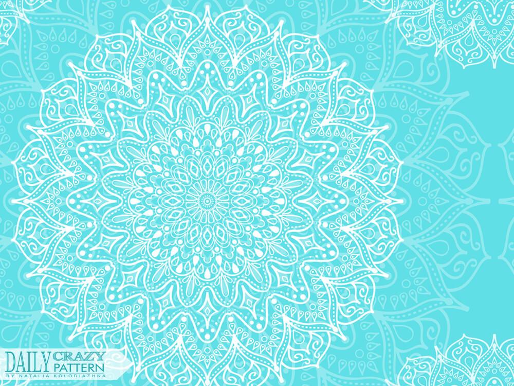 Sweet circular pattern