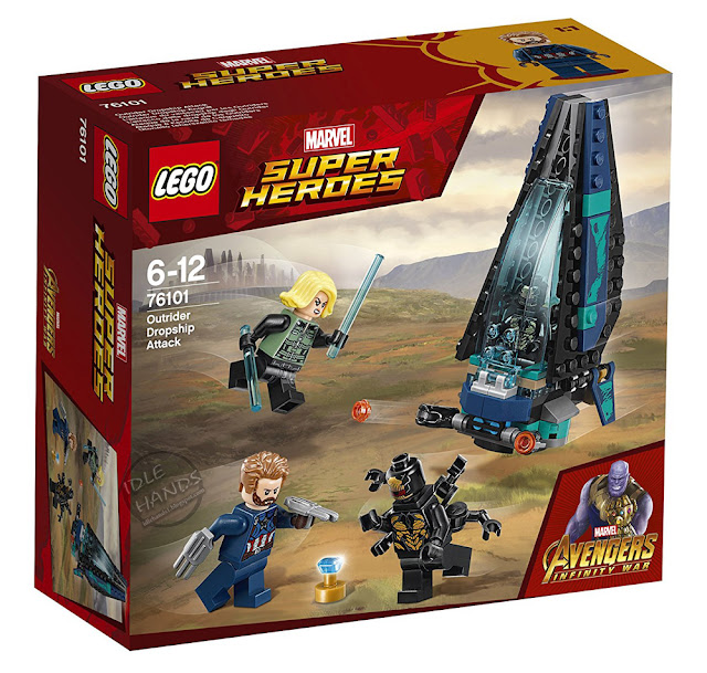 LEGO Marvel Super Heroes Infinity War Outrider Dropship Attack