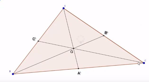 مركز ثقل المثلث