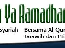 Program Spesial Ramadhan 1434 H