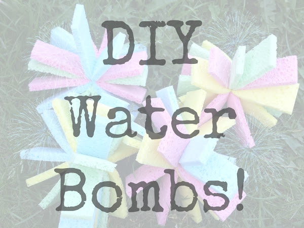 DIY Water Bombs {Tutorial}