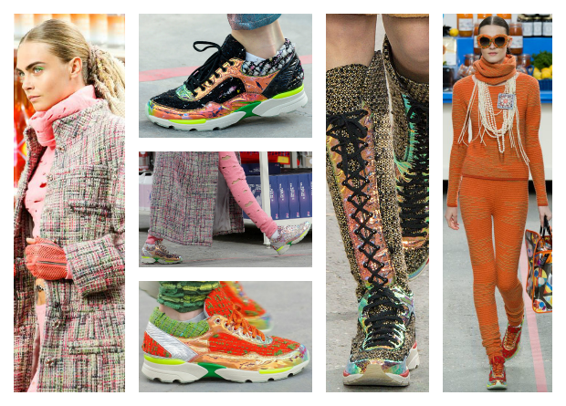 sneakers moda Chanel runner tendencias