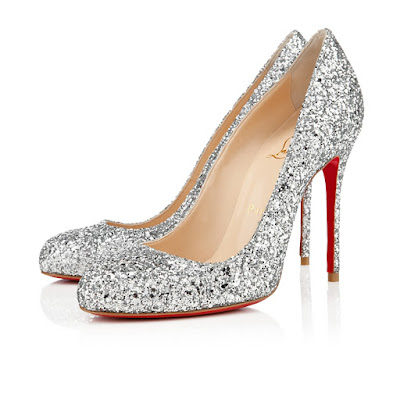 zapatos plateados para matrimonio