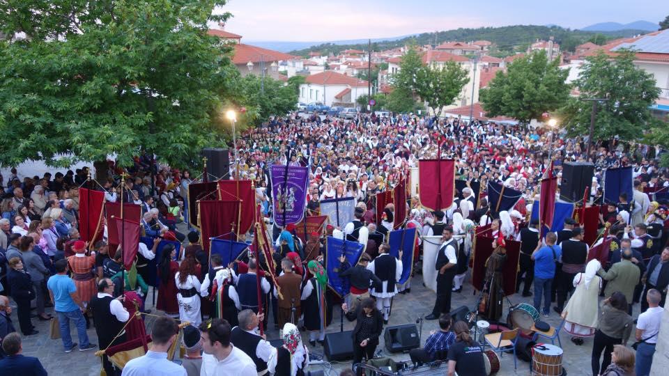 15ο Αντάμωμα Χορευτικών Ομάδων στον Πολύγυρο Χαλκιδικής!