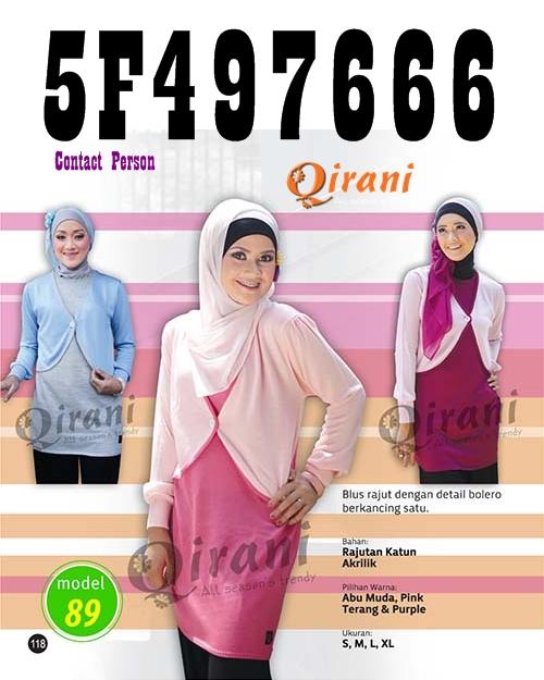 Koleksi Pakaian Muslim Qirani Paling Baru 2016 084e3083c6