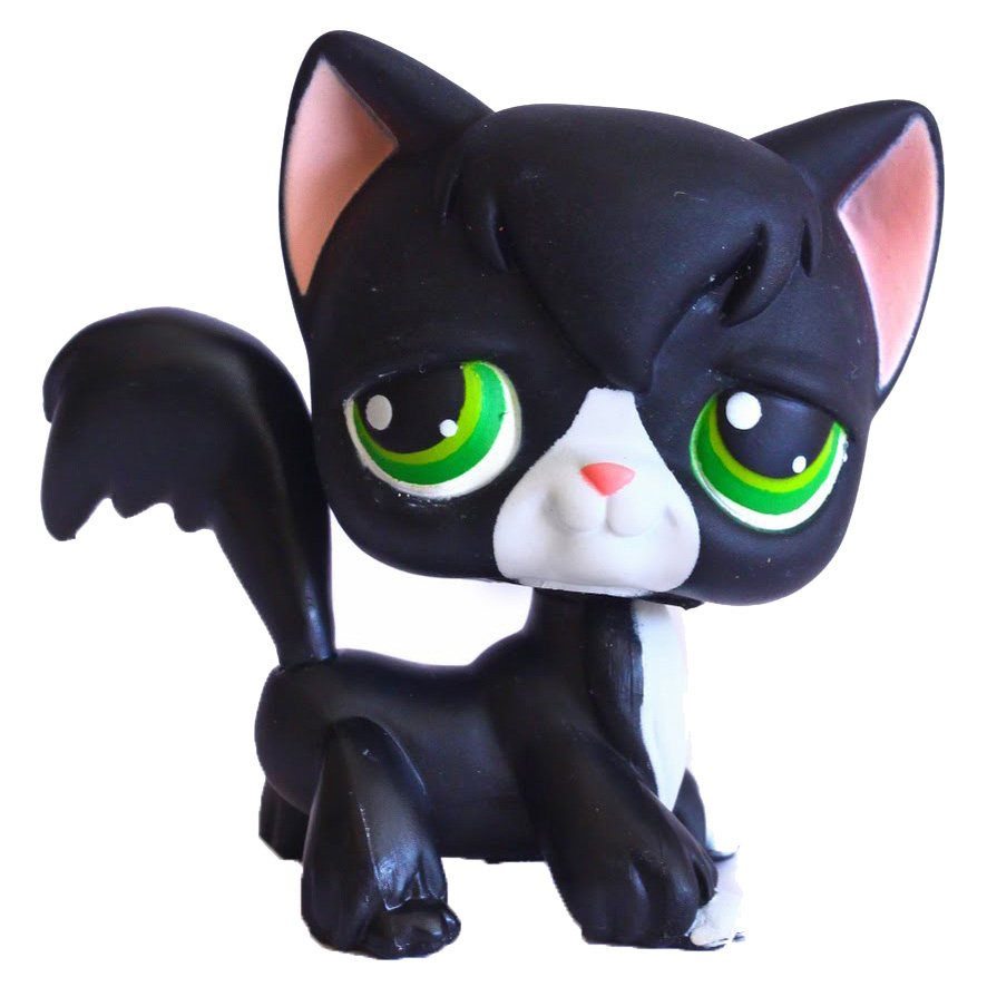 Lps Cat Longhair Generation 1 Pets Lps Merch