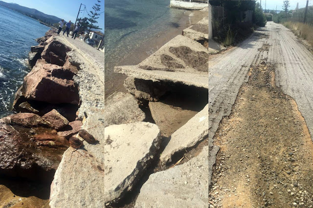 Συνεχίζονται οι εργασίες καταγραφής και αποκατάστασης από την θεομηνία στο Δήμο Ερμιονίδας