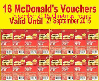 free Mcdonalds coupons december 2016
