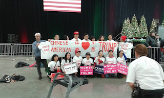 Chinese-Americans Love Trump
