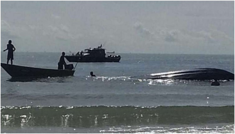 Kapal yang membawa TKI ilegal tenggelam di Johor Bahru, Malaysia