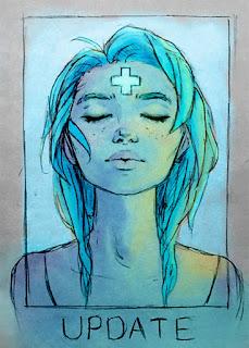 ilustradores, dibujantes, destiny blue