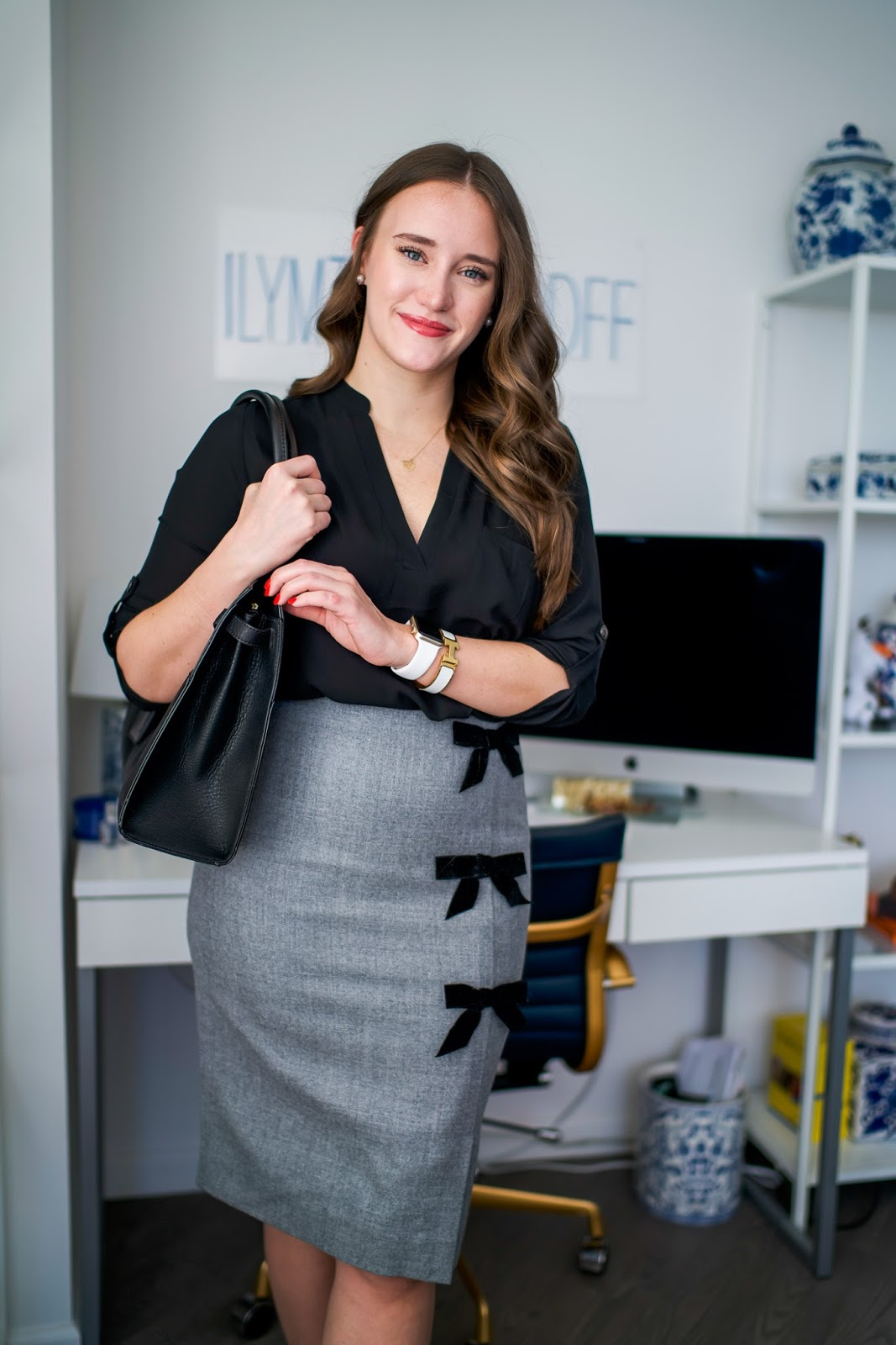 Closet Remix for Office Look by popular new york fashion blogger Covering the Bases