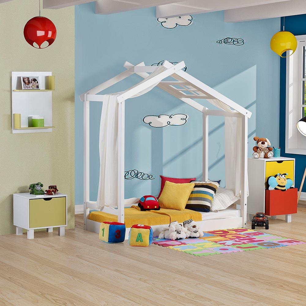 Camas montessorianas modelos e dicas de onde comprar for Cama infantil
