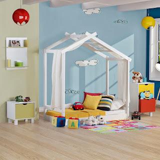 Cama infantil Montessoriano