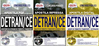 Apostila digital Detran Ceara - Departamento Estadual de Trânsito / CE, grátis cd rom. Ver detalhes.