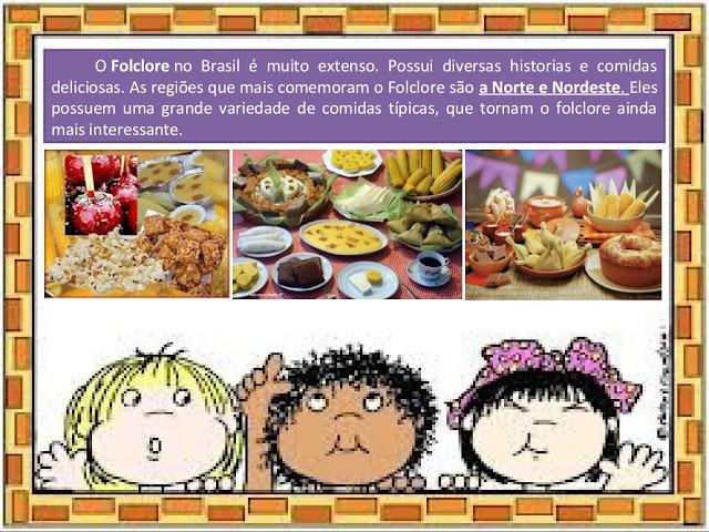 O Folclore no Brasil