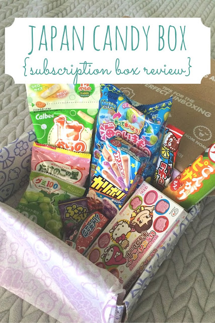 Get your Japanese candy fix once a month with Japan Candy Box! This subscription box will satisfy anyone who loves Japanese candy and snacks.