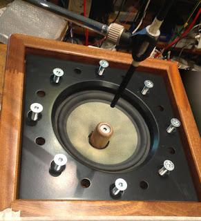 klinger favre studio 20 acajou speakers enceintes mahogany