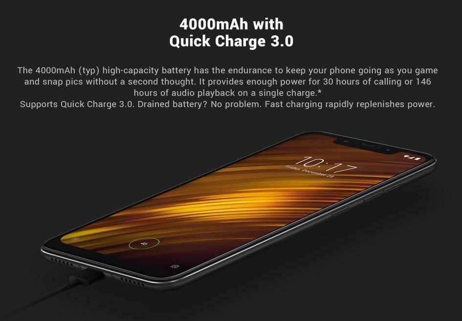 Cumpără Xiaomi Pocophone F1 de pe Aliexpress cu livrare în Moldova