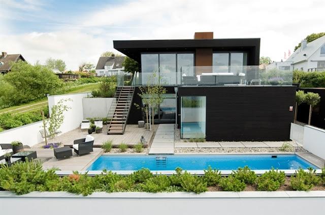 Desain Interior Rumah di Tepi Pantai