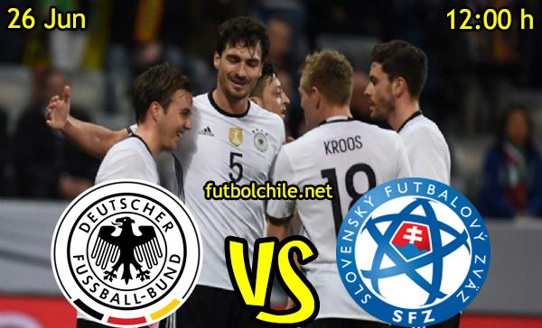 VER STREAM RESULTADO EN VIVO, ONLINE: Alemania vs Eslovaquia