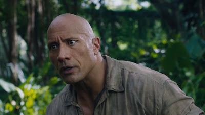 Dwayne Johnson New Look In Jumanji Film 2017