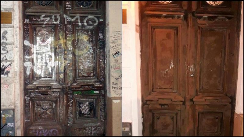 El gobierno porte o intent pintar la fachada de la casa de luca prodan rock es compartir - La casa de luca ...