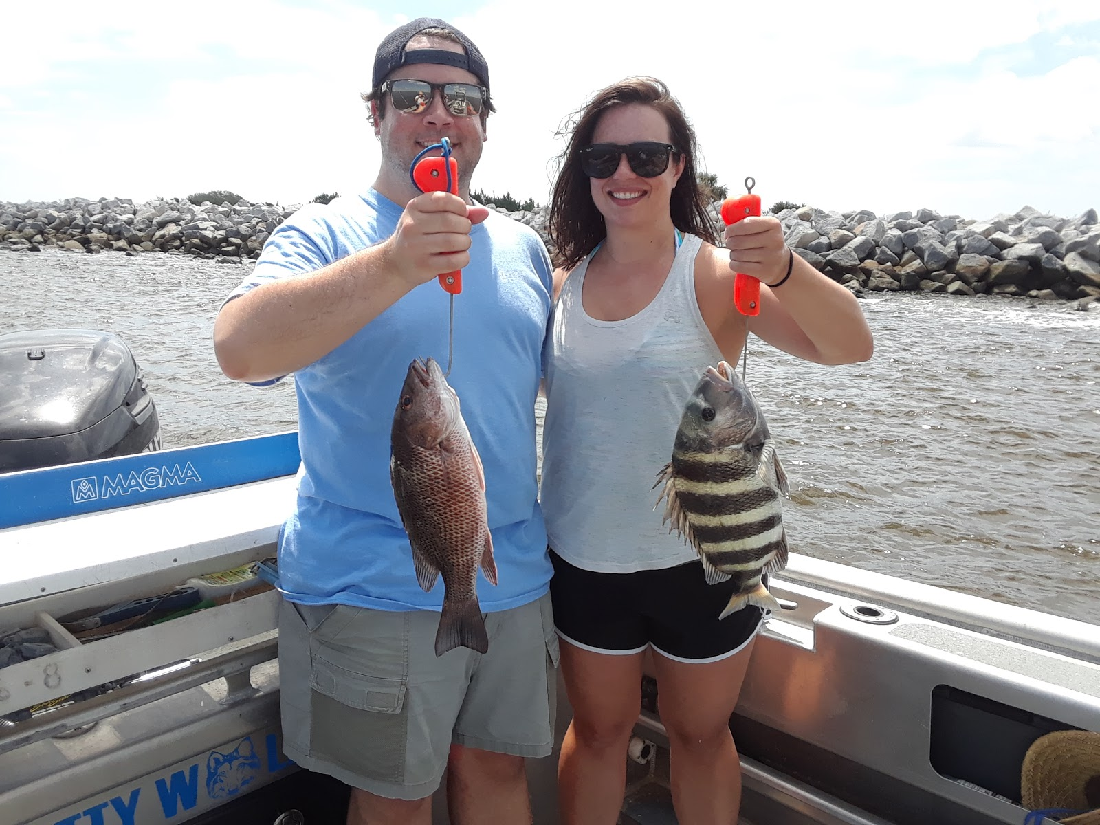 Capt dave sipler 39 s sport fishing july 4th holiday season for Sally t fishing