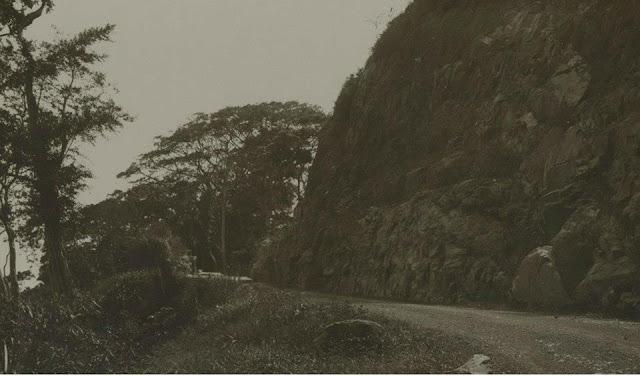 Pembangunan jalan lintas Gumitir, Banyuwangi.