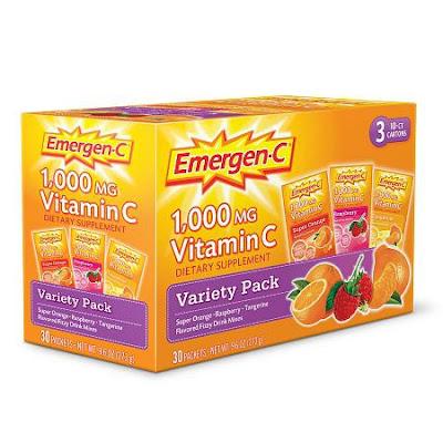 Emergen-C, Alternatives to soda