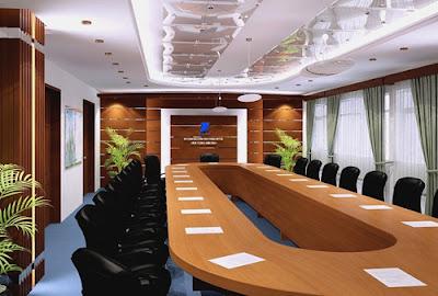 Phòng họp đẹp, sang trọng
