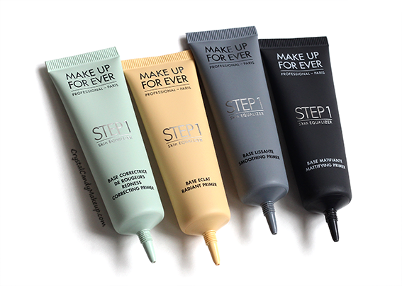 Make Up For Ever Step 1 Skin Equalizer Primers Review Photos