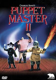 Puppet master 2, jaquette DVD artus films, Charles Band, David Allen, fantastique, horreur