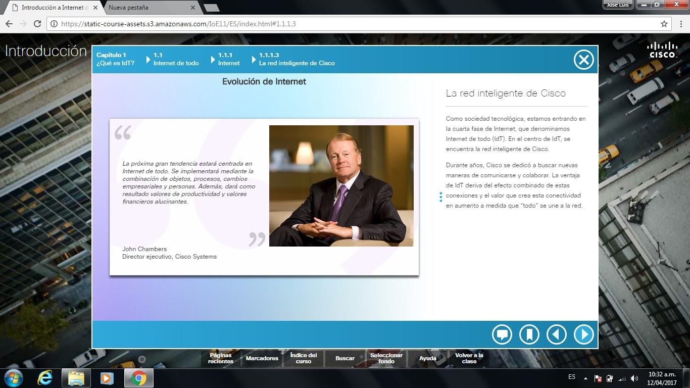 1Internet Conecta Al Mundo (Curso IDT): Internet de Todo Cap 1 de 5 ...