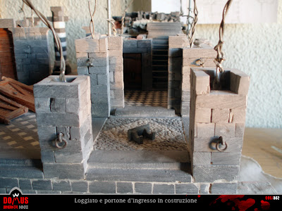 [ENG] Construction 95: Main door (4) - Lintel and upper hinges