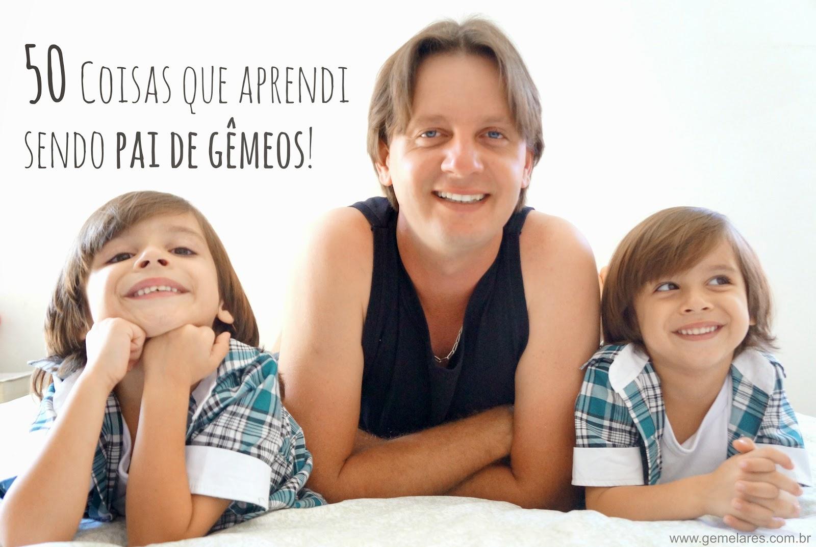 50 Coisas que aprendi sendo pai de gêmeos