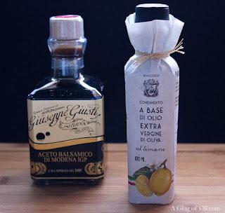 Italian Balsamic and Lemon Olive Oil
