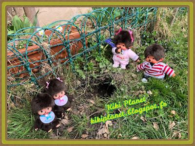 monchhichi, bebichhichi sekiguchi kiki jardin kauri