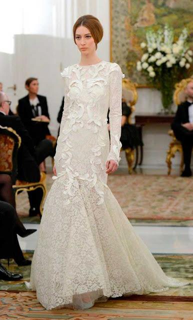 Vestido de noiva sereia de Dolce Gabbana