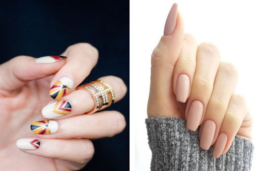 Fresh Nail Art And Spa With Elegant Concept