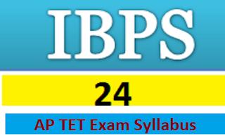 AP TET Exam Syllabus
