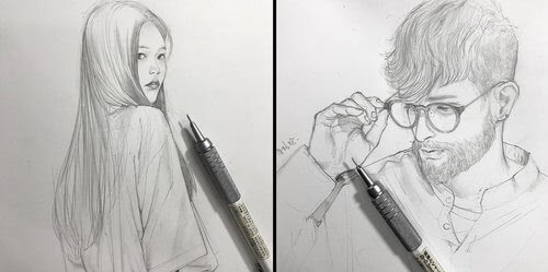 00-Chibana-Pen-and-Pencil-Portrait-Sketches-www-designstack-co