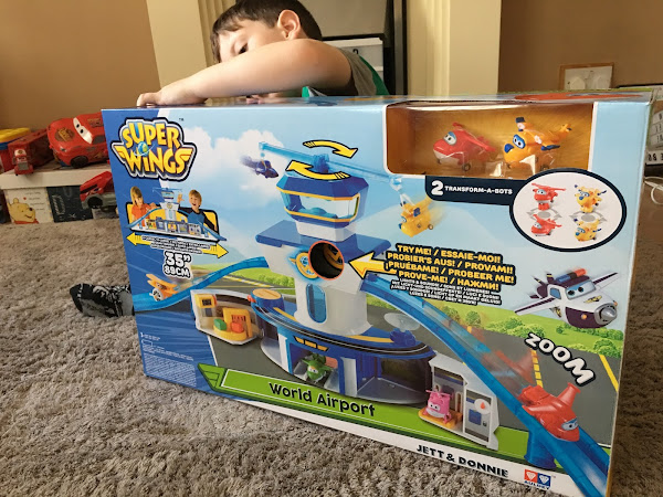 Review - Super Wings Toys