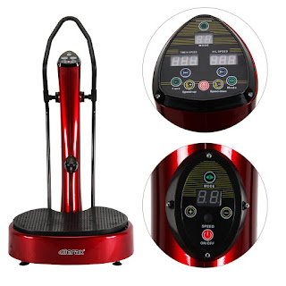 Merax ME560 Whole Body Vibration Platform Fitness Machine, image, review features & specifications