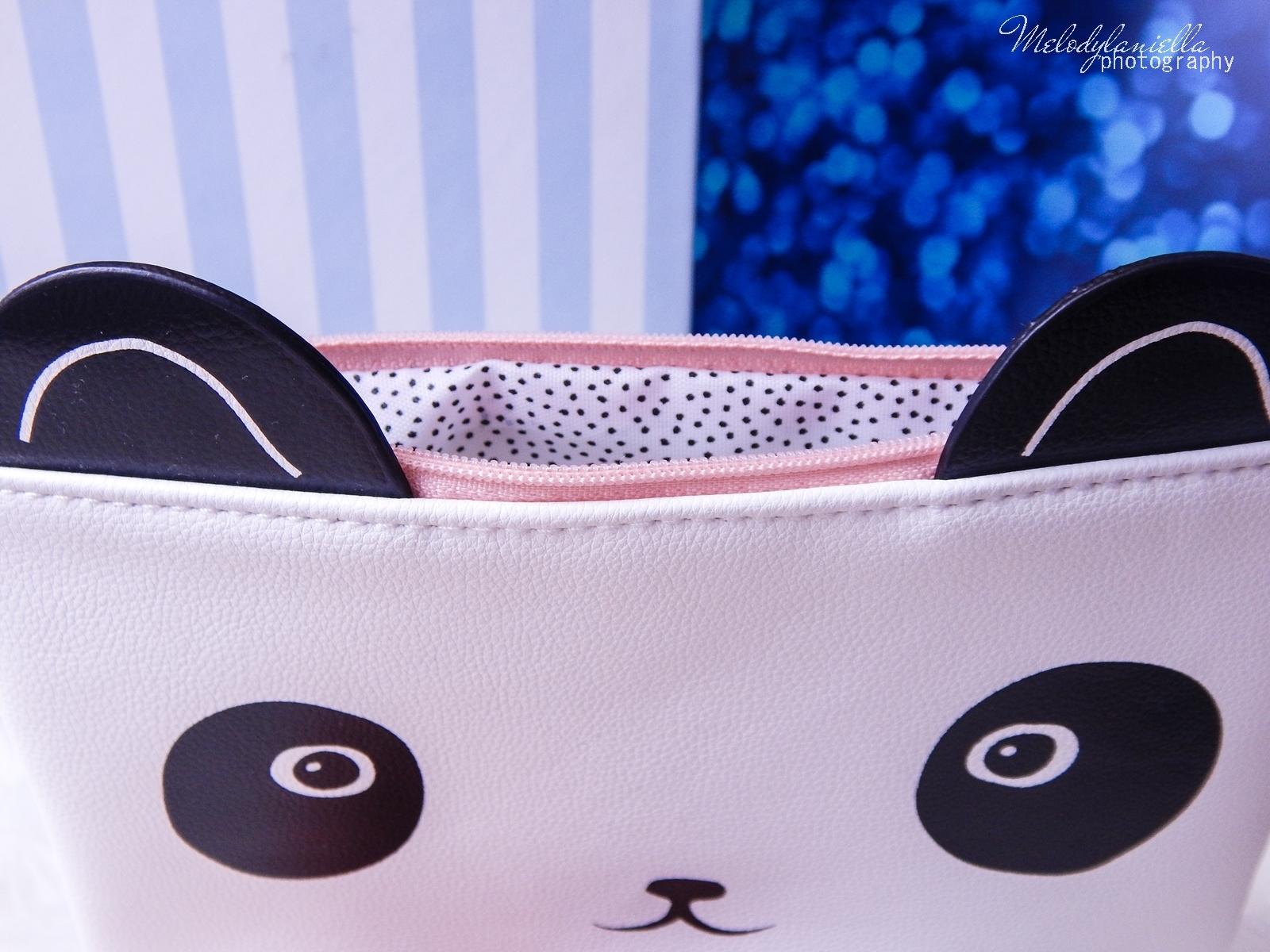 10 Oh! K Life koreańskie kosmetyki i gadżety słodkie dziewczęce dodatki maska do twarzy panda kosmetyczka w kształcie pandy lodowe płatki chłodzące okłady na oczy przeciw sińcom jak pozbyć się sińców pod oczami