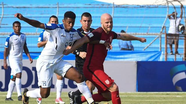 Honduras empató con Estados Unidos en la Hexagonal Final