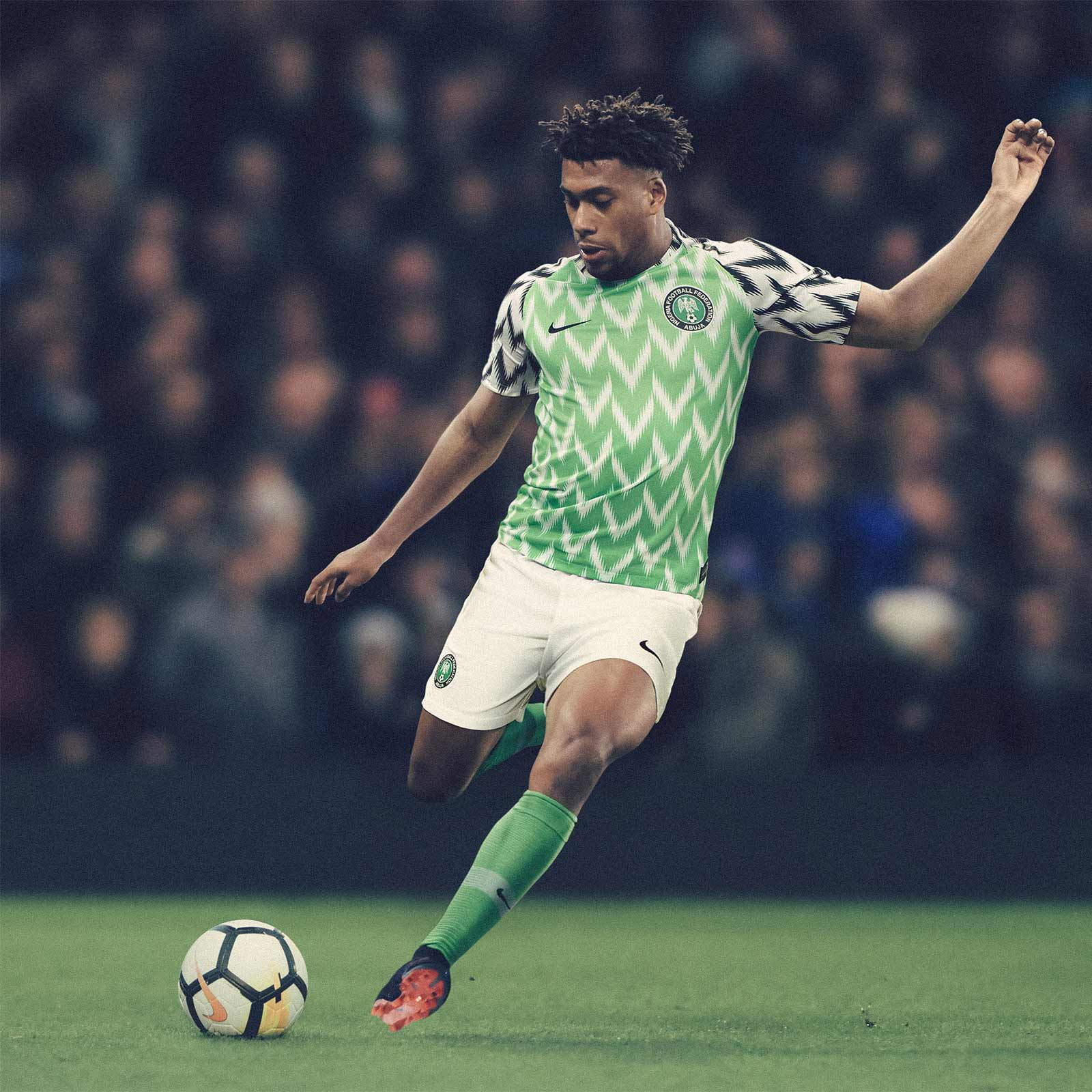 Latest News In Nigeria: Nigeria 2018 World Cup Home Kit Revealed