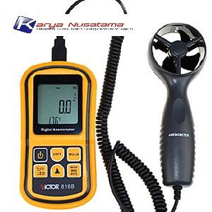 Jual Victor VC816B Split Anemometer Digital Wind Speed di Jakarta