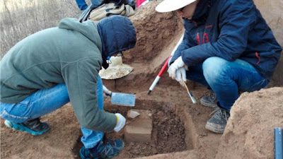 Oldest tools known to man found in China.
