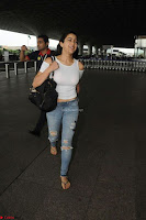 Sara Ali khan Daughter of Saif Ali Khan Spotted in White T Shirt at Airport ~  Exclusive Picture Galleries 002.jpg